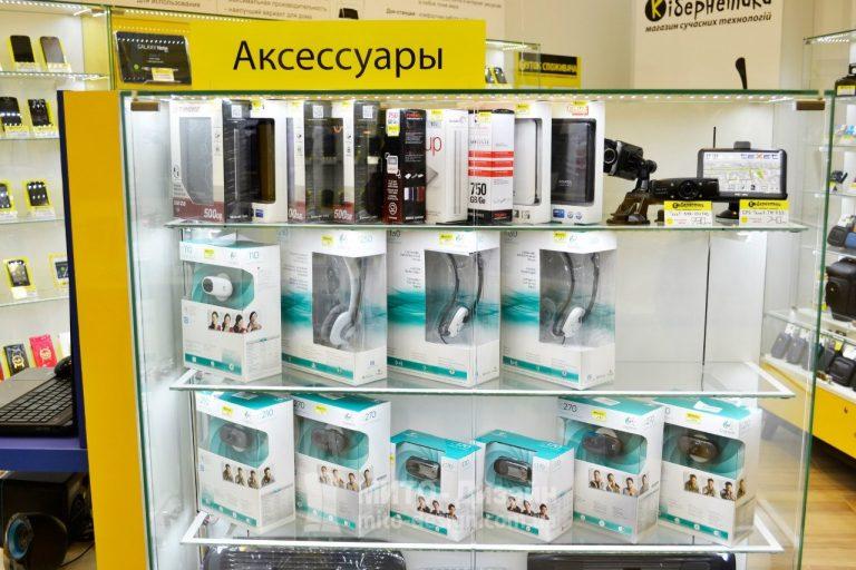 островной отдел для магазина телефонов