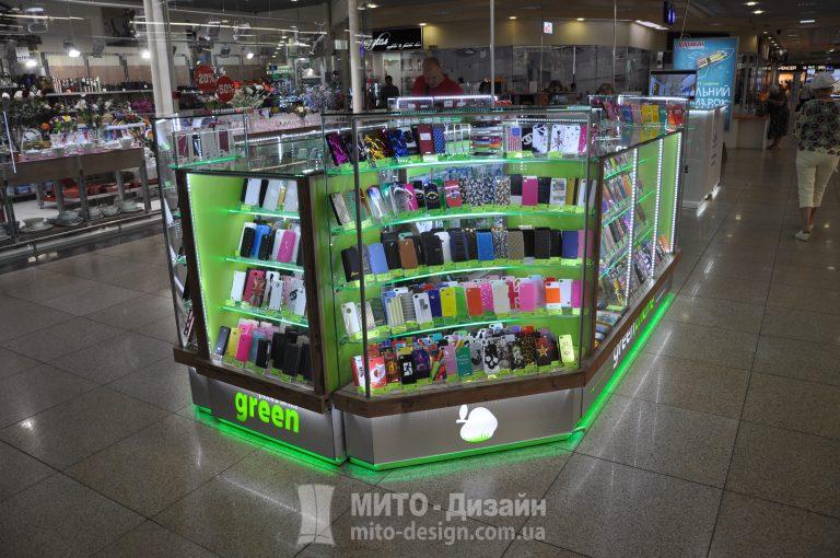 торговый островок green phone