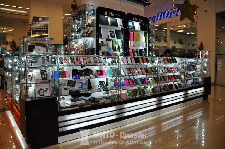 торговые островки магазина цифровой