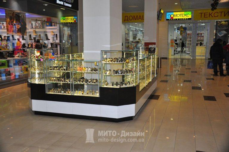 Торговый островок Магазин часов