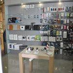 торговый островок для мобильных аксессуаров