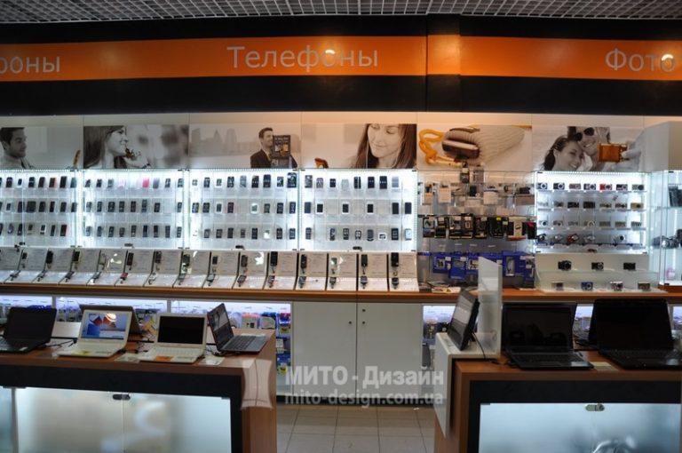 торговое оборудование для магазина цифровой техники