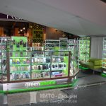 торговый островок витрина для телефонных аксессуаров