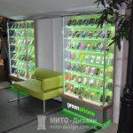 торговый островок витрина для мобильных аксессуаров