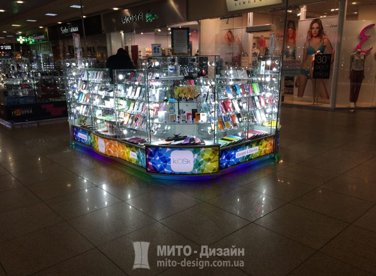 торговый островок для магазина телефонов