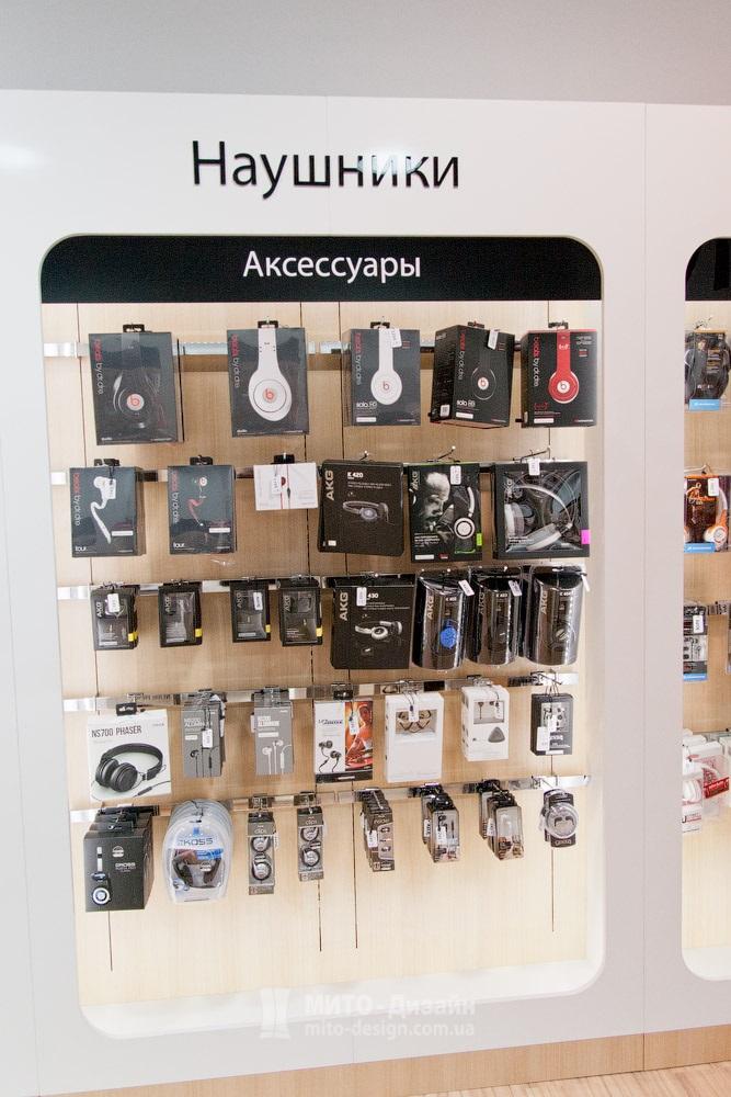 торговое оборудование витрины для телефонов