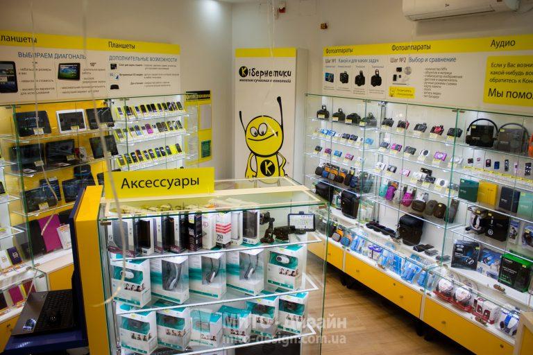 торговое оборудование для сотовых телефонов
