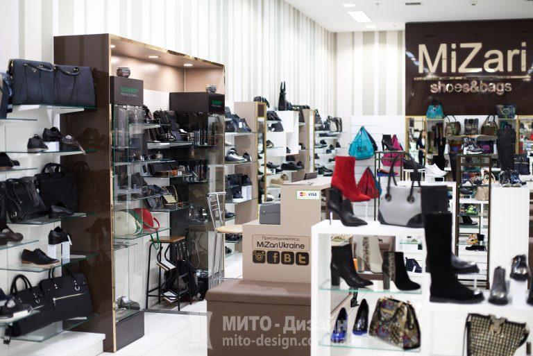 торговое оборудование магазина MiZari