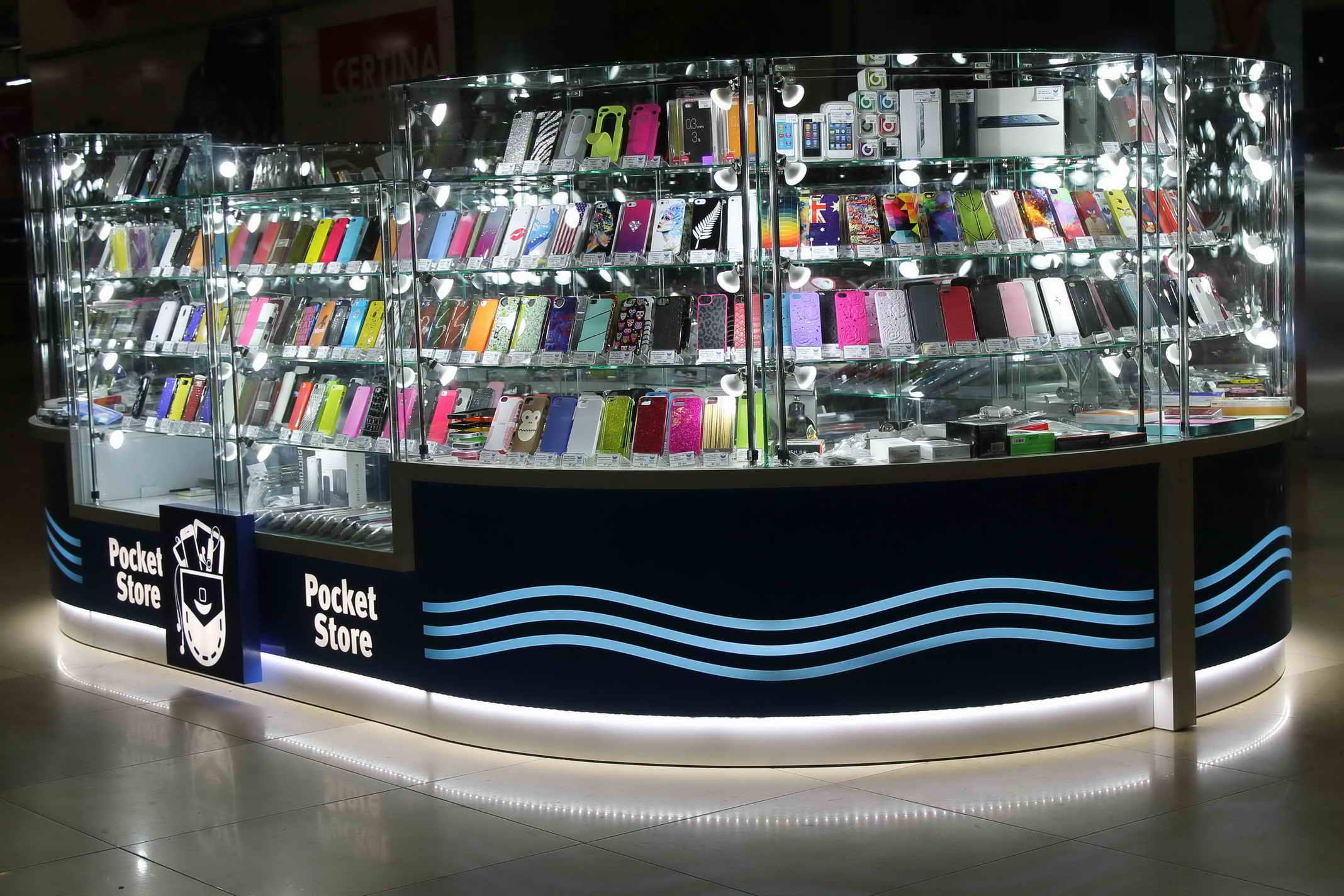 торговый островок Pocket store