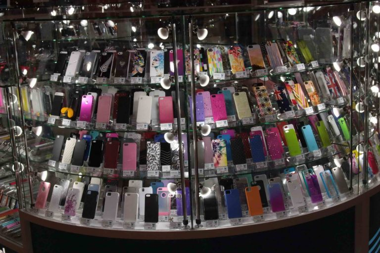 торговый островок для сотовых телефонов