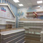 Торговое оборудование для детского магазина «klёvo»