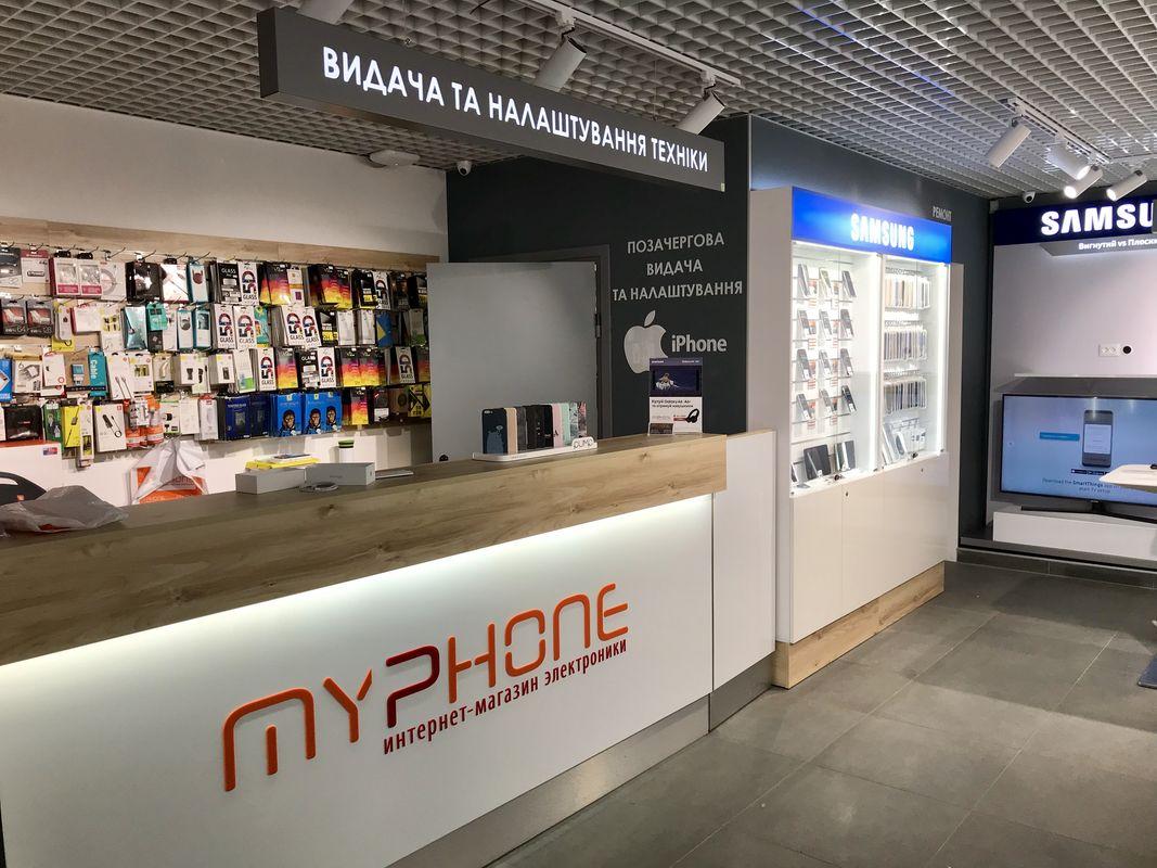 Торговый островок MYPHONE - шкаф
