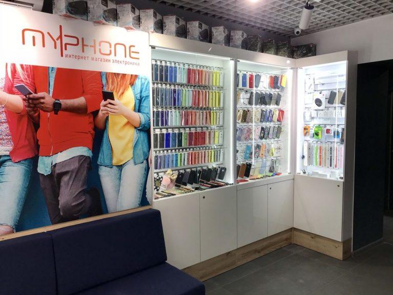Торговый островок Myphone - витрина