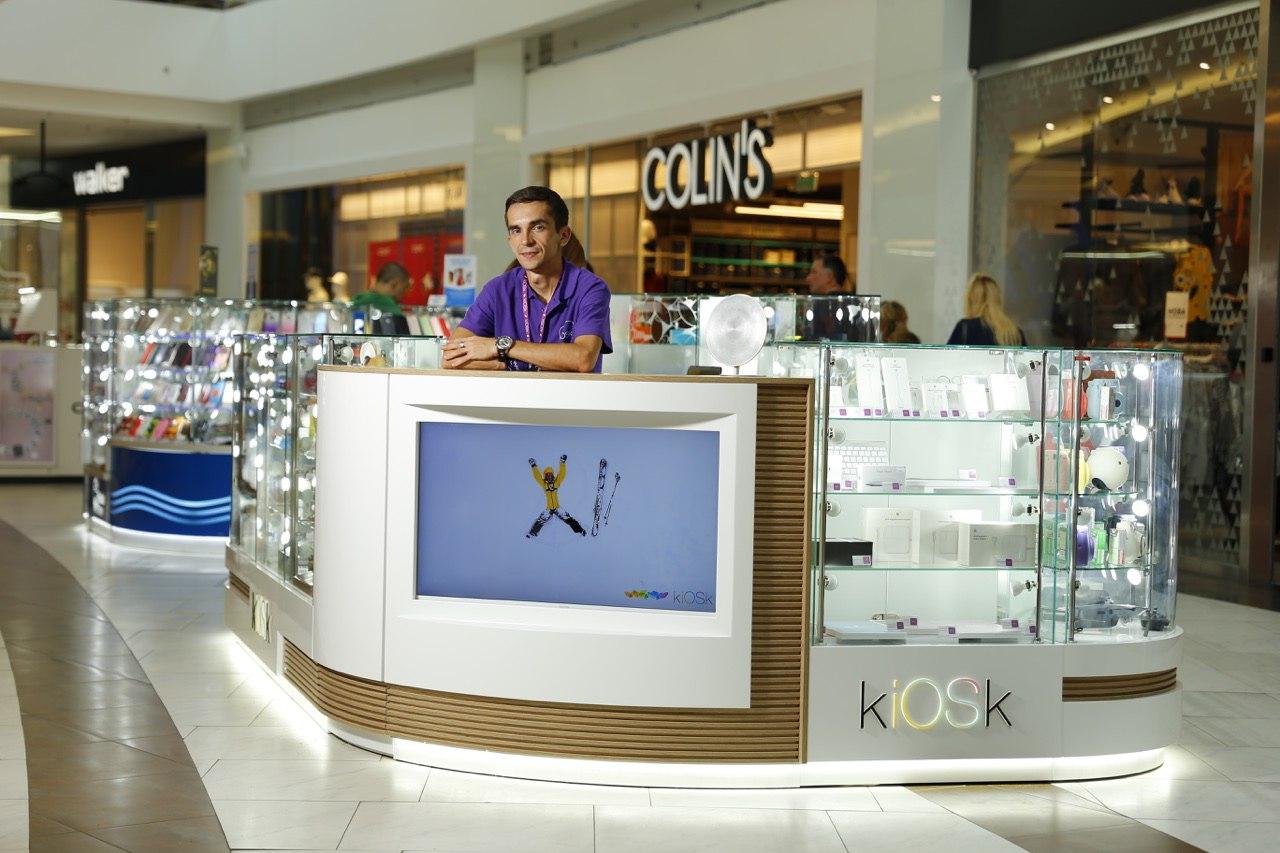 Торговый остров для kiosk
