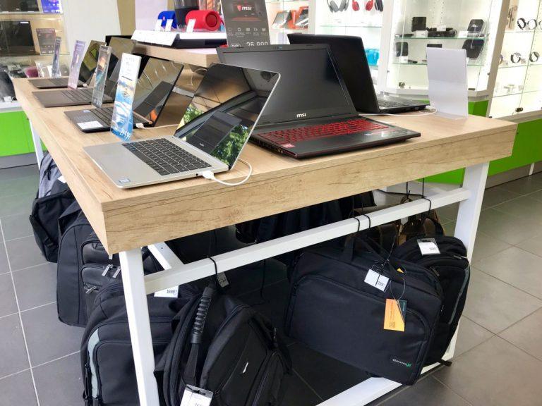 торговое оборудование мито дизайн для магазина гаджетов