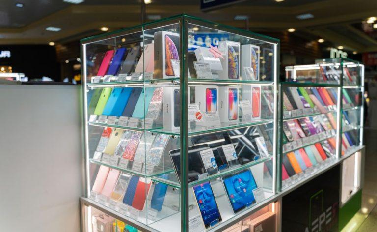 Торговое обуродование галерея мобильной связи