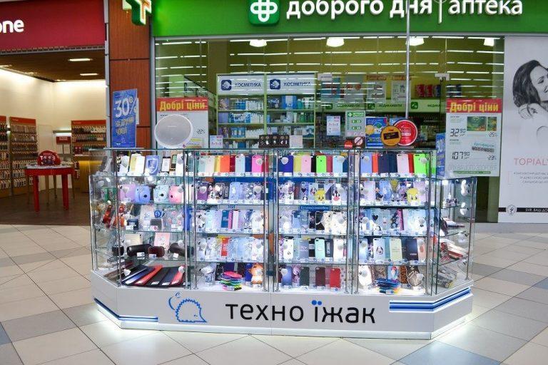 Торговый островок для магазина Техноеж