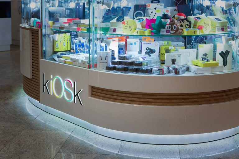 торговый островок для сотовых телефонов KIOSK